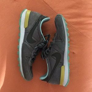promo code daeba c8c42 Nike Shoes - Nike Internationalist Green suede sneaker US 8